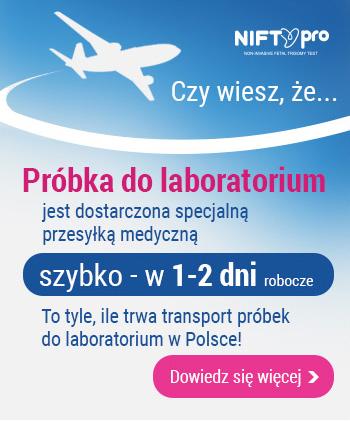 przesyłka próbki do laboratorium 1-2 dni robocze
